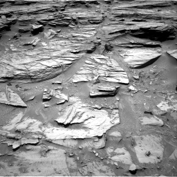 Nasa's Mars rover Curiosity acquired this image using its Right Navigation Camera on Sol 1072, at drive 96, site number 49