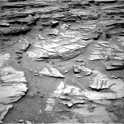 Nasa's Mars rover Curiosity acquired this image using its Right Navigation Camera on Sol 1072, at drive 102, site number 49