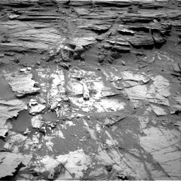 Nasa's Mars rover Curiosity acquired this image using its Right Navigation Camera on Sol 1072, at drive 126, site number 49