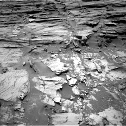 Nasa's Mars rover Curiosity acquired this image using its Right Navigation Camera on Sol 1072, at drive 132, site number 49