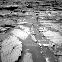 Nasa's Mars rover Curiosity acquired this image using its Right Navigation Camera on Sol 1072, at drive 150, site number 49