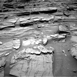 Nasa's Mars rover Curiosity acquired this image using its Right Navigation Camera on Sol 1072, at drive 162, site number 49