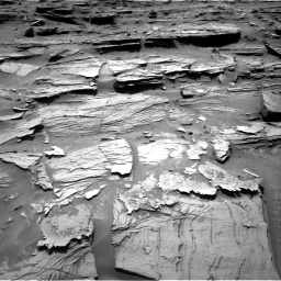 Nasa's Mars rover Curiosity acquired this image using its Right Navigation Camera on Sol 1072, at drive 168, site number 49
