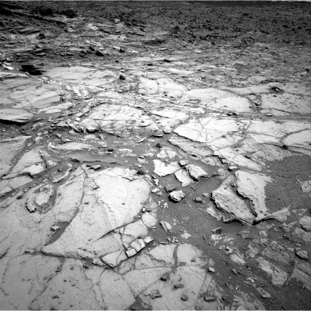 Nasa's Mars rover Curiosity acquired this image using its Right Navigation Camera on Sol 1072, at drive 252, site number 49