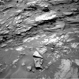 Nasa's Mars rover Curiosity acquired this image using its Right Navigation Camera on Sol 1072, at drive 258, site number 49