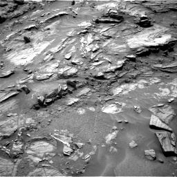 Nasa's Mars rover Curiosity acquired this image using its Right Navigation Camera on Sol 1072, at drive 264, site number 49