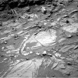 Nasa's Mars rover Curiosity acquired this image using its Right Navigation Camera on Sol 1072, at drive 282, site number 49