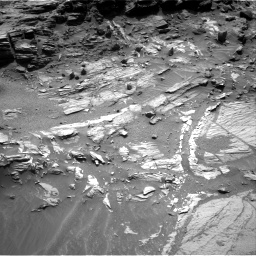 Nasa's Mars rover Curiosity acquired this image using its Right Navigation Camera on Sol 1072, at drive 288, site number 49