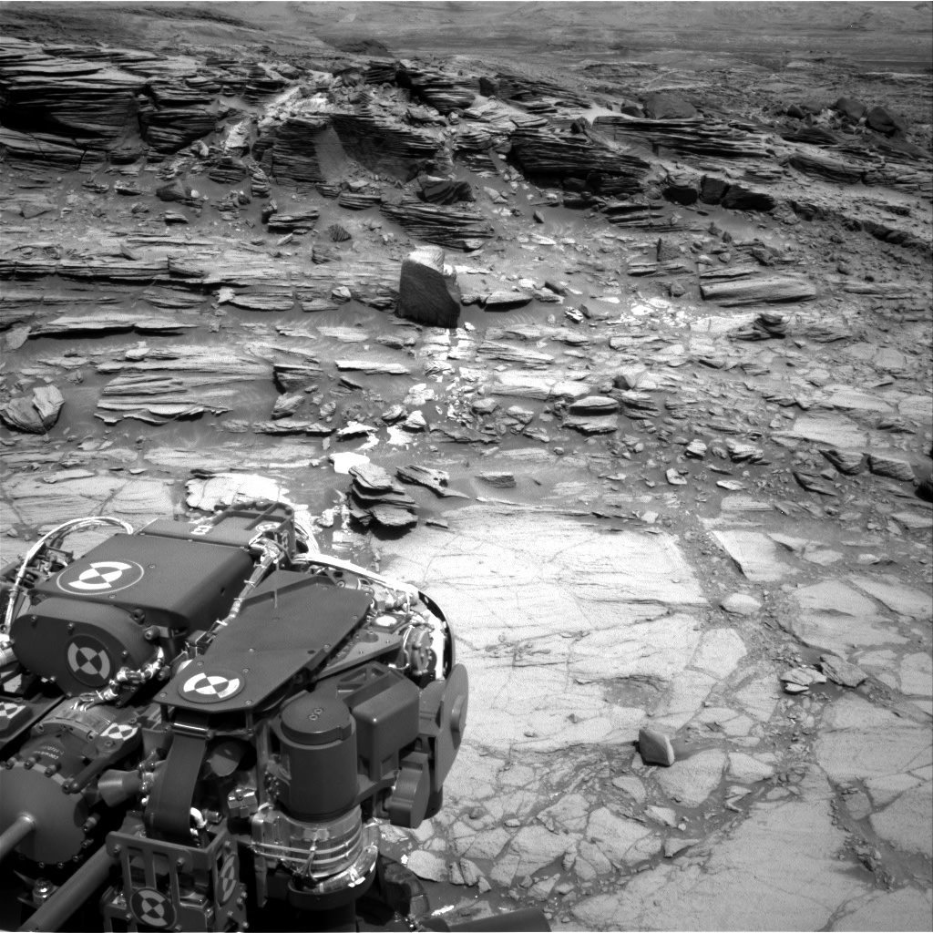 Nasa's Mars rover Curiosity acquired this image using its Right Navigation Camera on Sol 1072, at drive 294, site number 49