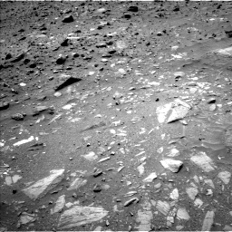 Nasa's Mars rover Curiosity acquired this image using its Left Navigation Camera on Sol 1073, at drive 366, site number 49