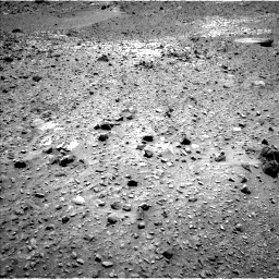 Nasa's Mars rover Curiosity acquired this image using its Left Navigation Camera on Sol 1073, at drive 570, site number 49