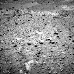 Nasa's Mars rover Curiosity acquired this image using its Left Navigation Camera on Sol 1073, at drive 582, site number 49
