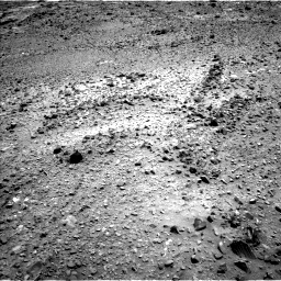 Nasa's Mars rover Curiosity acquired this image using its Left Navigation Camera on Sol 1073, at drive 630, site number 49