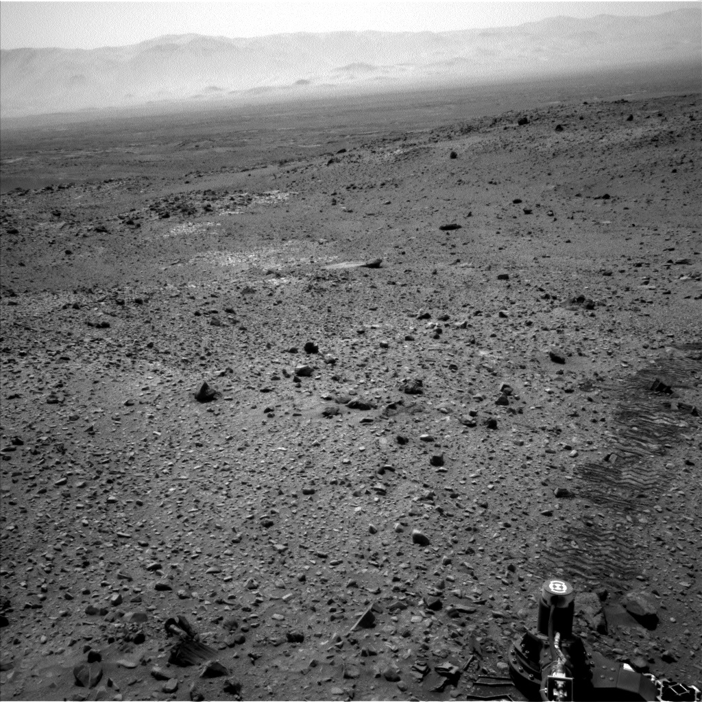 Nasa's Mars rover Curiosity acquired this image using its Left Navigation Camera on Sol 1073, at drive 642, site number 49
