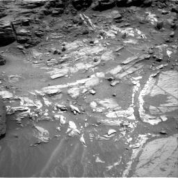 Nasa's Mars rover Curiosity acquired this image using its Right Navigation Camera on Sol 1073, at drive 294, site number 49
