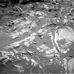 Nasa's Mars rover Curiosity acquired this image using its Right Navigation Camera on Sol 1073, at drive 306, site number 49