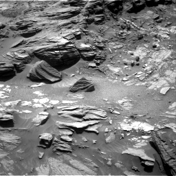 Nasa's Mars rover Curiosity acquired this image using its Right Navigation Camera on Sol 1073, at drive 318, site number 49