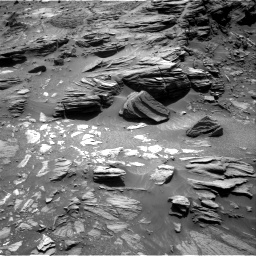 Nasa's Mars rover Curiosity acquired this image using its Right Navigation Camera on Sol 1073, at drive 324, site number 49