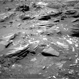 Nasa's Mars rover Curiosity acquired this image using its Right Navigation Camera on Sol 1073, at drive 336, site number 49