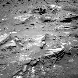 Nasa's Mars rover Curiosity acquired this image using its Right Navigation Camera on Sol 1073, at drive 342, site number 49