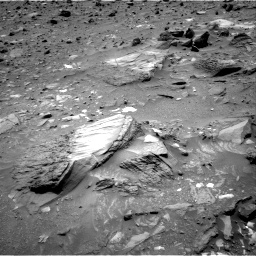 Nasa's Mars rover Curiosity acquired this image using its Right Navigation Camera on Sol 1073, at drive 354, site number 49