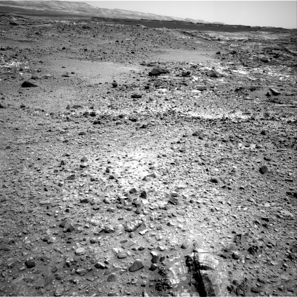 Nasa's Mars rover Curiosity acquired this image using its Right Navigation Camera on Sol 1073, at drive 642, site number 49