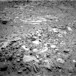 Nasa's Mars rover Curiosity acquired this image using its Left Navigation Camera on Sol 1074, at drive 714, site number 49