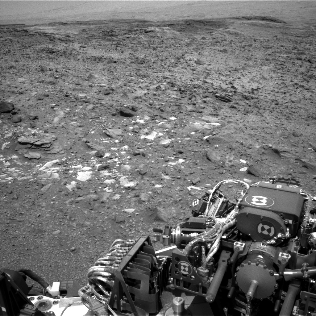 Nasa's Mars rover Curiosity acquired this image using its Left Navigation Camera on Sol 1074, at drive 814, site number 49