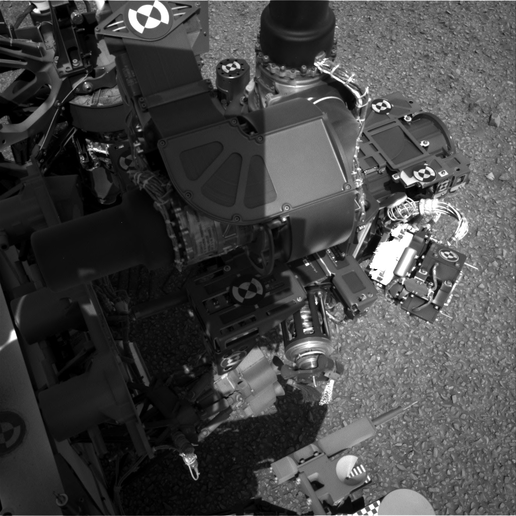 Nasa's Mars rover Curiosity acquired this image using its Right Navigation Camera on Sol 1076, at drive 814, site number 49