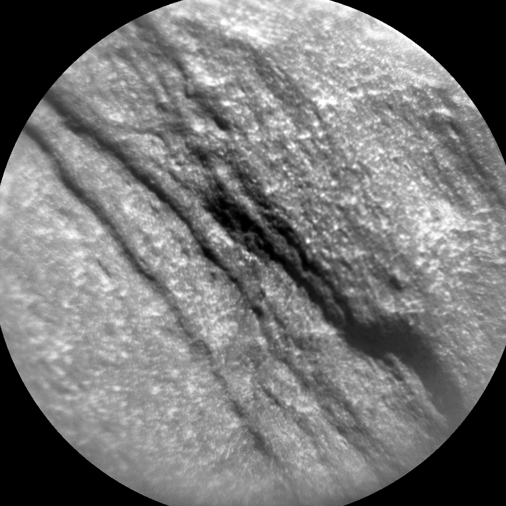 Nasa's Mars rover Curiosity acquired this image using its Chemistry & Camera (ChemCam) on Sol 1077, at drive 814, site number 49