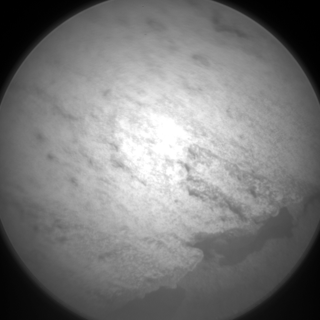 Nasa's Mars rover Curiosity acquired this image using its Chemistry & Camera (ChemCam) on Sol 1078, at drive 814, site number 49