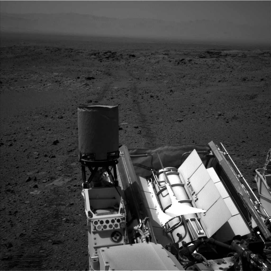 Nasa's Mars rover Curiosity acquired this image using its Left Navigation Camera on Sol 1078, at drive 1018, site number 49