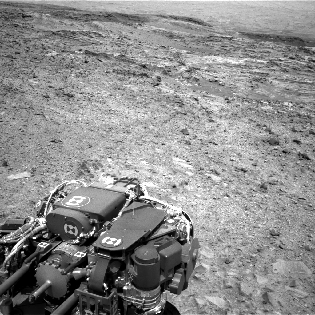 Nasa's Mars rover Curiosity acquired this image using its Right Navigation Camera on Sol 1078, at drive 1018, site number 49