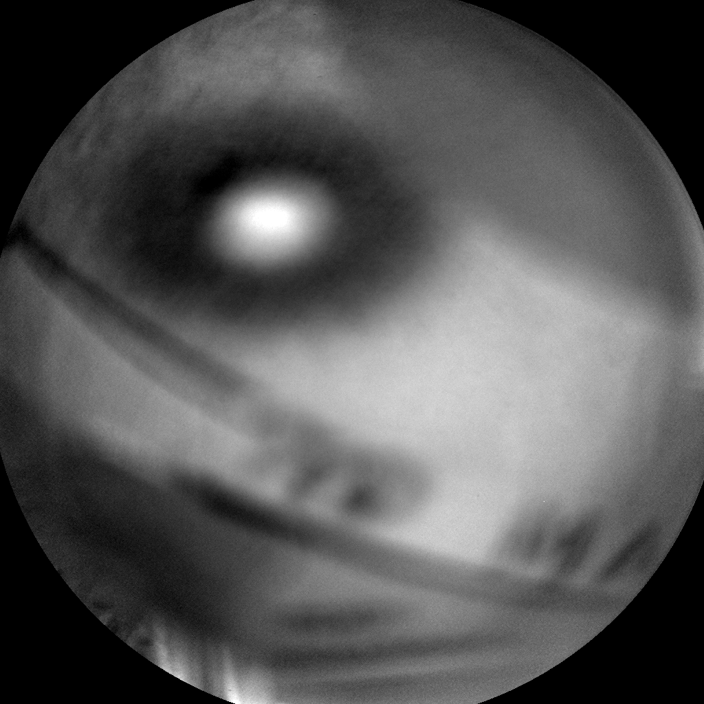 Nasa's Mars rover Curiosity acquired this image using its Chemistry & Camera (ChemCam) on Sol 1079, at drive 1018, site number 49