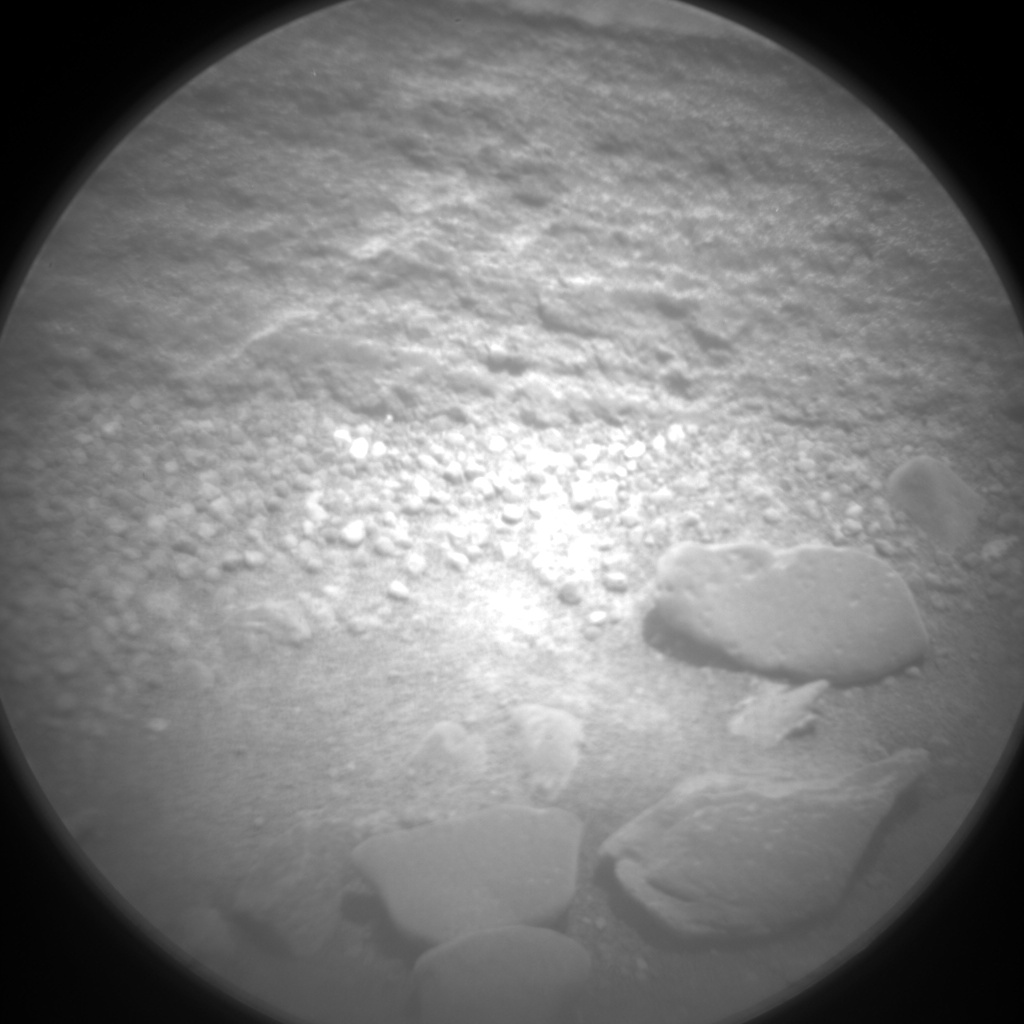Nasa's Mars rover Curiosity acquired this image using its Chemistry & Camera (ChemCam) on Sol 1080, at drive 1018, site number 49