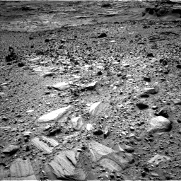 Nasa's Mars rover Curiosity acquired this image using its Left Navigation Camera on Sol 1080, at drive 1186, site number 49