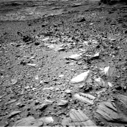 Nasa's Mars rover Curiosity acquired this image using its Right Navigation Camera on Sol 1080, at drive 1198, site number 49