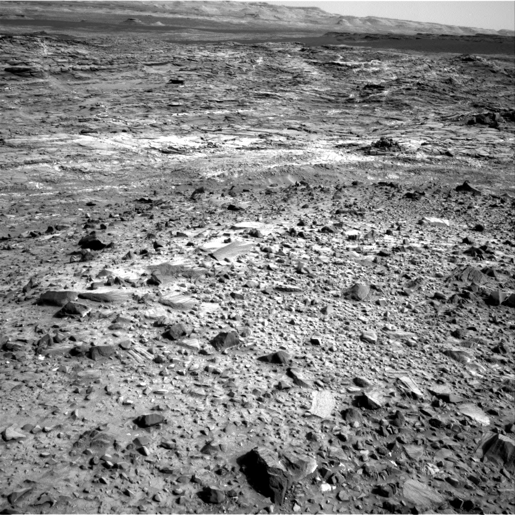 Nasa's Mars rover Curiosity acquired this image using its Right Navigation Camera on Sol 1080, at drive 1216, site number 49