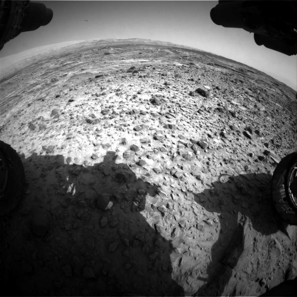 Nasa's Mars rover Curiosity acquired this image using its Front Hazard Avoidance Camera (Front Hazcam) on Sol 1082, at drive 1216, site number 49