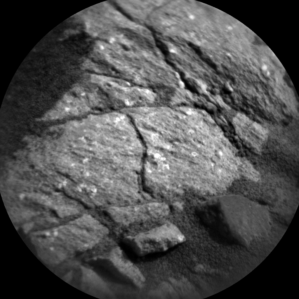 Nasa's Mars rover Curiosity acquired this image using its Chemistry & Camera (ChemCam) on Sol 1082, at drive 1216, site number 49