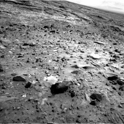 Nasa's Mars rover Curiosity acquired this image using its Left Navigation Camera on Sol 1083, at drive 1270, site number 49
