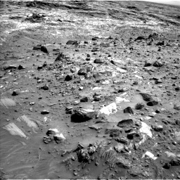 Nasa's Mars rover Curiosity acquired this image using its Left Navigation Camera on Sol 1083, at drive 1288, site number 49