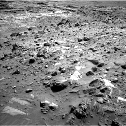 Nasa's Mars rover Curiosity acquired this image using its Left Navigation Camera on Sol 1083, at drive 1300, site number 49