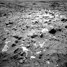 Nasa's Mars rover Curiosity acquired this image using its Left Navigation Camera on Sol 1083, at drive 1312, site number 49