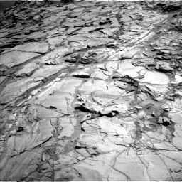 Nasa's Mars rover Curiosity acquired this image using its Left Navigation Camera on Sol 1083, at drive 1414, site number 49