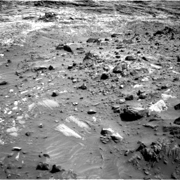 Nasa's Mars rover Curiosity acquired this image using its Right Navigation Camera on Sol 1083, at drive 1294, site number 49