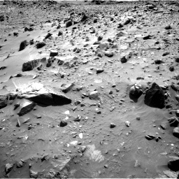 Nasa's Mars rover Curiosity acquired this image using its Right Navigation Camera on Sol 1083, at drive 1360, site number 49