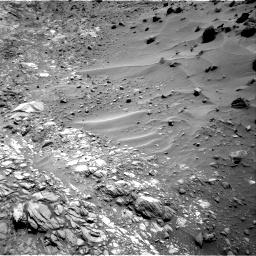 Nasa's Mars rover Curiosity acquired this image using its Right Navigation Camera on Sol 1083, at drive 1378, site number 49