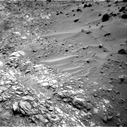 Nasa's Mars rover Curiosity acquired this image using its Right Navigation Camera on Sol 1083, at drive 1384, site number 49