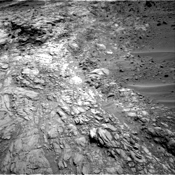 Nasa's Mars rover Curiosity acquired this image using its Right Navigation Camera on Sol 1083, at drive 1390, site number 49